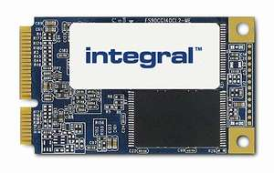 Integral msata SSD MO-300 240GB for £22.40 or SSD MO-300 480GB for £46.05 delivered @ Amazon