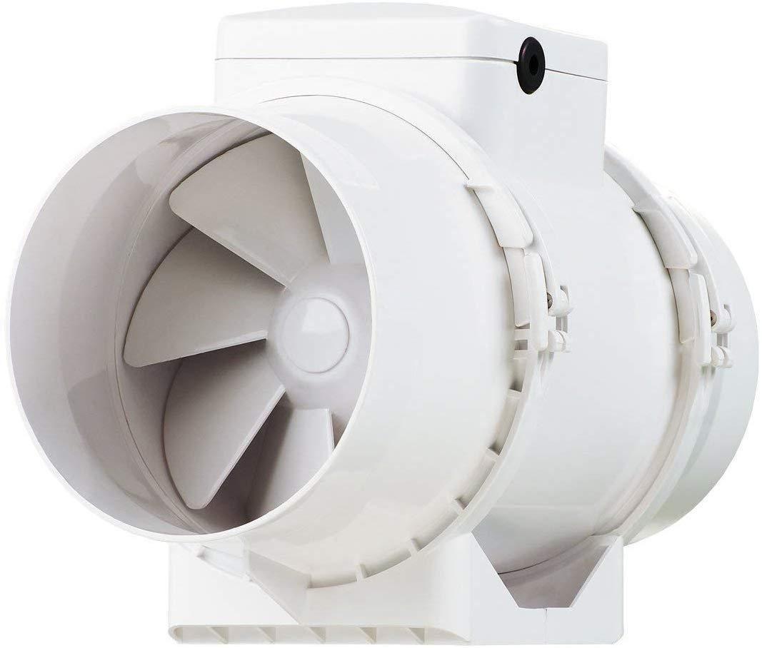 "Vents TT Mixed Flow in Line Extractor Fan (5"" / 125 mm - Timer) LIGHTING DEAL £24.53 @ Amazon"