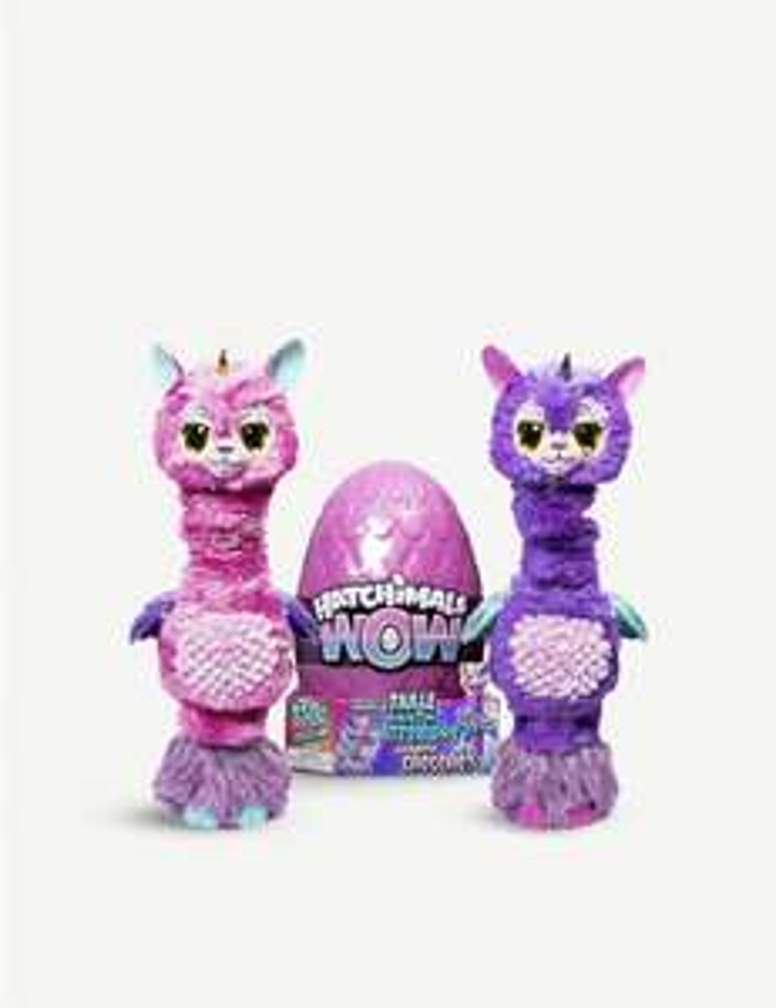 Hatchimals Hatchiwow Llalacorn Interactive Plush Toy £39.99 @ TheToyShop.com (The Entertainer)
