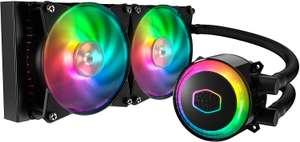 Cooler Master MasterLiquid ML240R RGB Liquid CPU Cooler - £79.99 @ Amazon