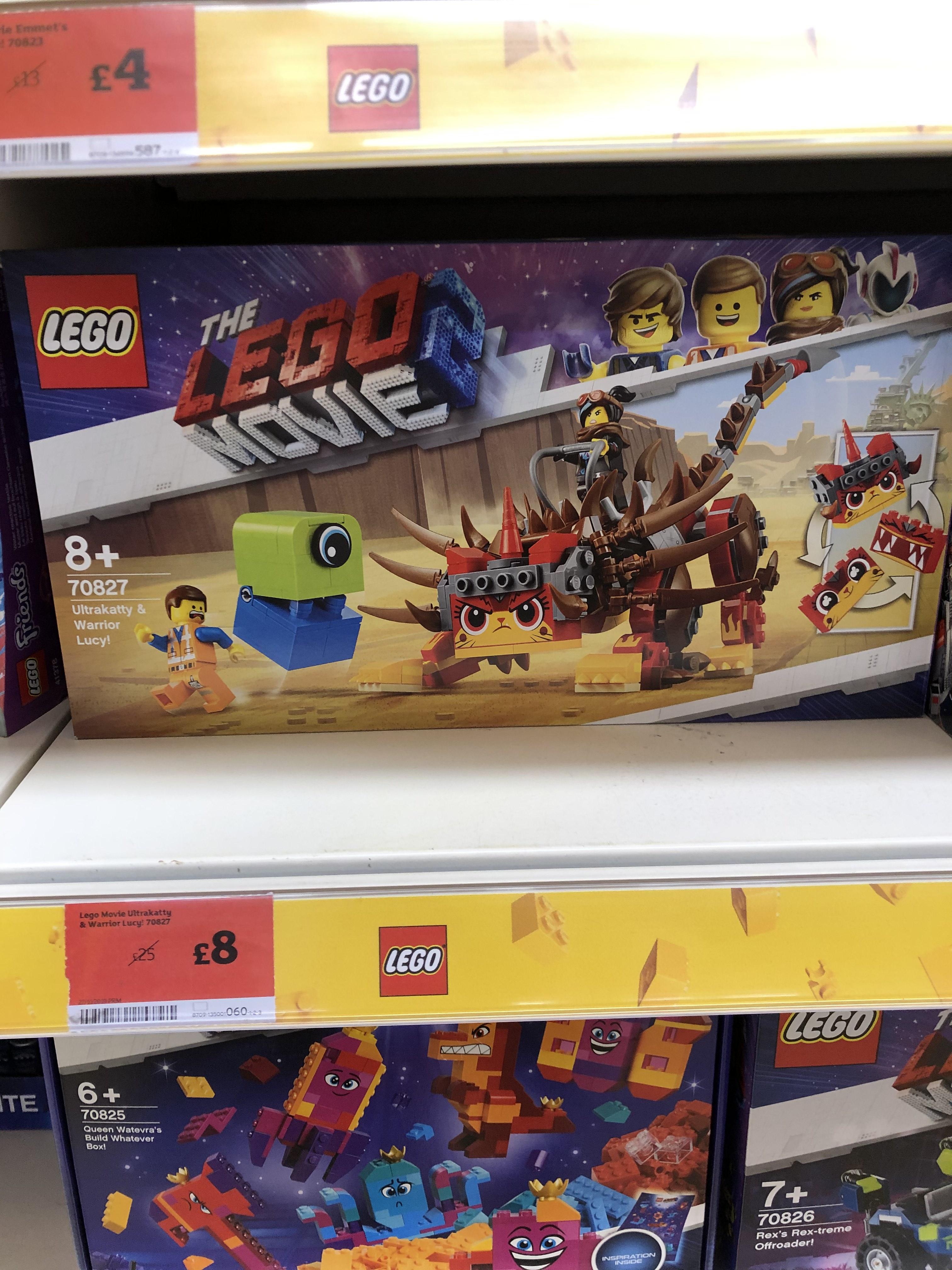 Lego Movie 2 LEGO 70827 - £8 Instore @ Sainsbury's (Essex)
