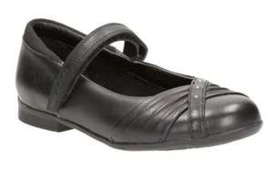 Clarks Movello8 Girls Infant School Shoes - £6 delivered with Code @ Clarks Outlet