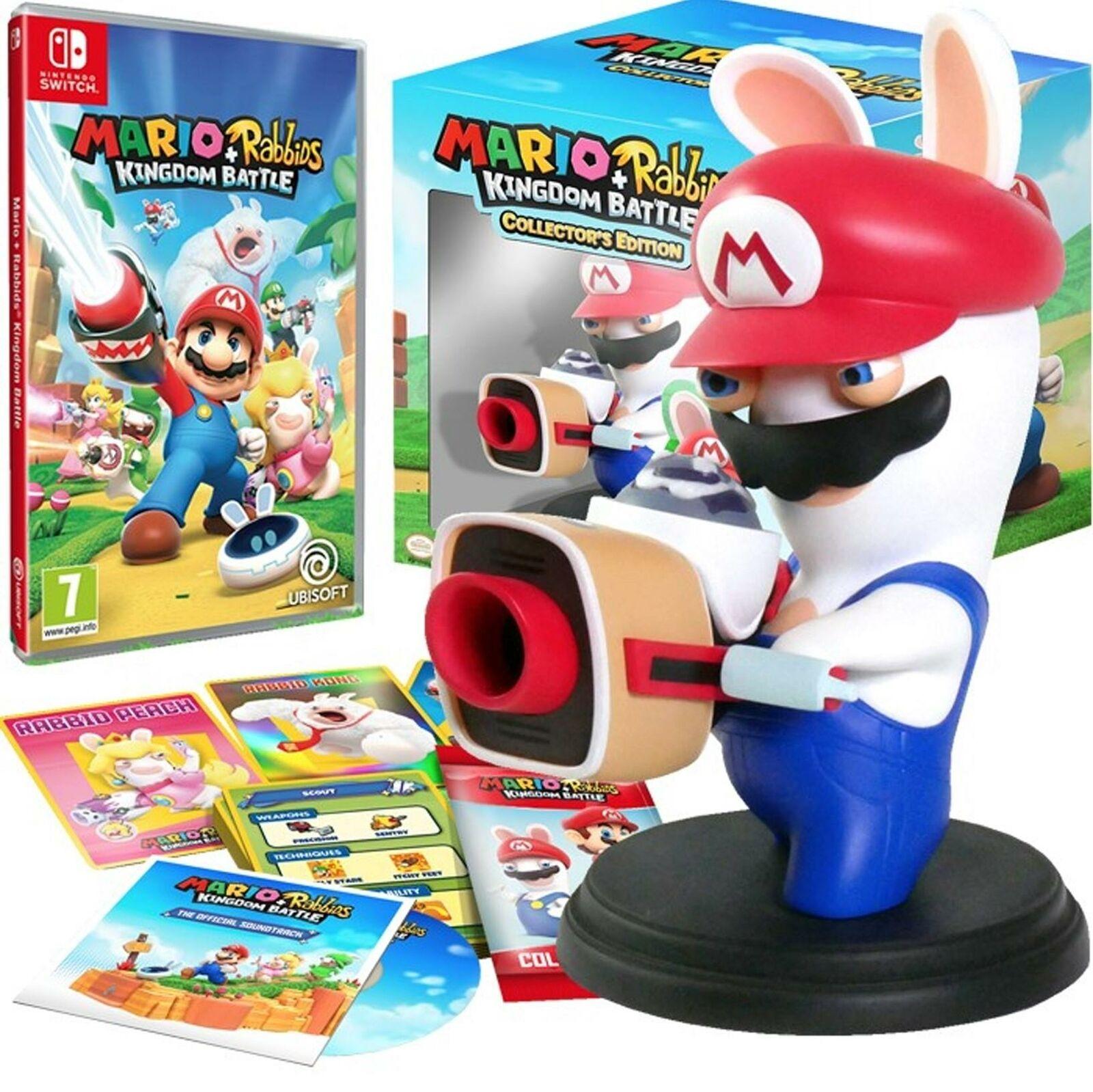 Mario and Rabbids Kingdom Battle   Collectors Edition - Nintendo Switch £32.99 @ homeandgardenltd / eBay