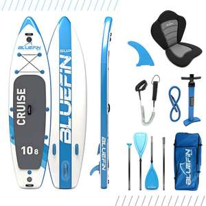 Bluefin Cruise SUP Package | Stand Up Inflatable Paddle Board - £349 (With Code) @ Bluefin
