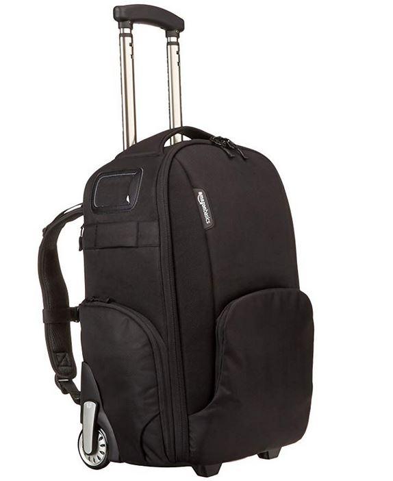 AmazonBasics Convertible Rolling Camera Backpack £50 @ Amazon