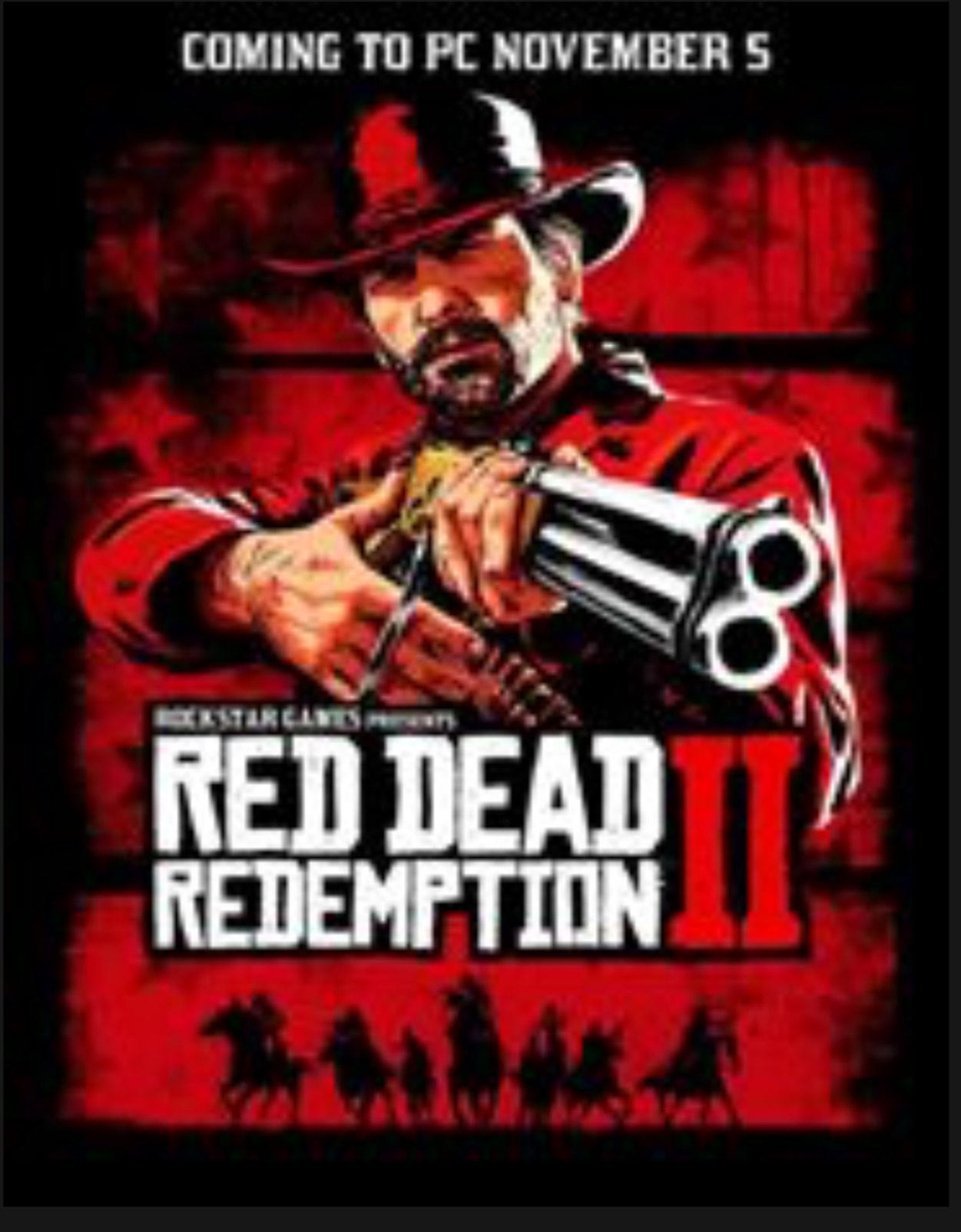 Red Dead Redemption 2 PC £35.19 @ Voidu