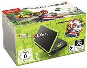 New Nintendo 2DS XL - Lima Green Console + Mario Kart 7 (Pre-installed) £90.43 (£86.46 Fee free card price) @ Amazon Spain