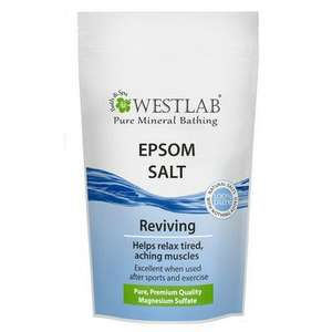 Westlab Epsom Salts 500G £1.50 Lloyds Pharmacy - free Click and Collect