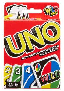 Uno Card Game £3.99 Amazon Add On Item (£20 spend)