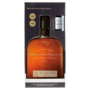 Woodford Reserve Bourbon whiskey Old Fashioned Gift Pack 70cl - only £24 @ Waitrose