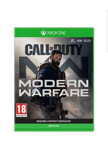 Call of Duty: Modern Warfare (Xbox One) with Exclusive bonus content £42.99 on Amazon
