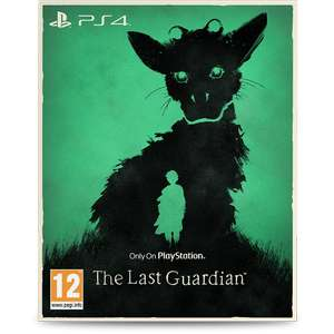 The Last Guardian (PS4) (with limited edition O-Ring) £11.99 in store @Game
