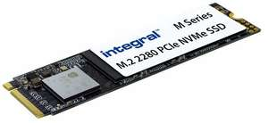 Integral 512GB m Series M.2 2280 Pcie Gen3x4 NVMe SSD for £44.40 delivered @ Amazon
