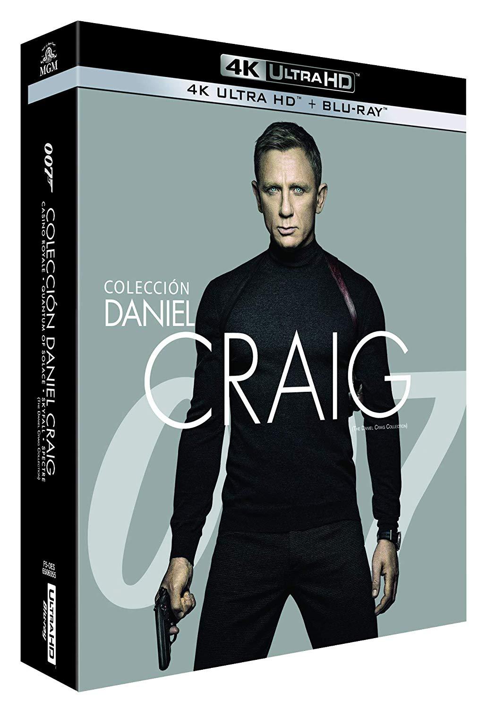 James Bond Daniel Craig Collection 4K Ultra HD + Blu-ray £38.27 delivered @ Amazon Spain