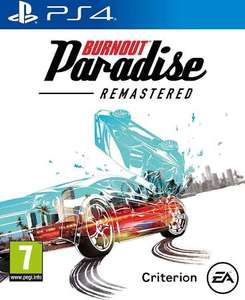 Burnout Paradise Remastered PS4 and Xbox One @ Tesco - £3.75 instore