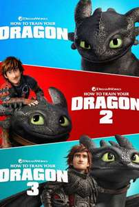 How To Train Your Dragon Trilogy 4K £12.99 @ iTunes