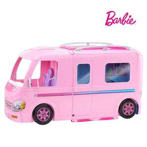 Barbie FBR34 ESTATE Dream Camper Pink Pop Out Caravan for Dolls, Accessories Included, Playset Vehicle £44.65 at Amazon