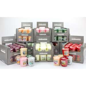 Yankee Candle Lucky Dip 54 Mini Sampler Home Inspiration Votive Candles Special at Yankee Candle for £24 delivered