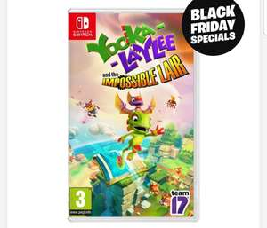 Yooka-Laylee And The Impossible Lair Nintendo Switch £19.99 c&c at Smyths Toys