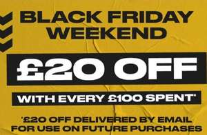 £20 Off With Every £100 Spent at Sports Direct