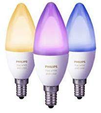 Philips Hue White & Colour Ambiance Smart Bulb 3 Pack LED Bundle £67.49 at Amazon
