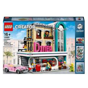 LEGO 10260 Downtown Diner reduced for £99.99 or £89.99 if use £10 off £100 spend voucher in store at Smyths . See comments.