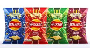 Free packet of Walkers crisps with Greggs app