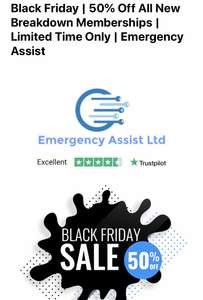 50% off a new breakdown membership at Emergency Assist Limited