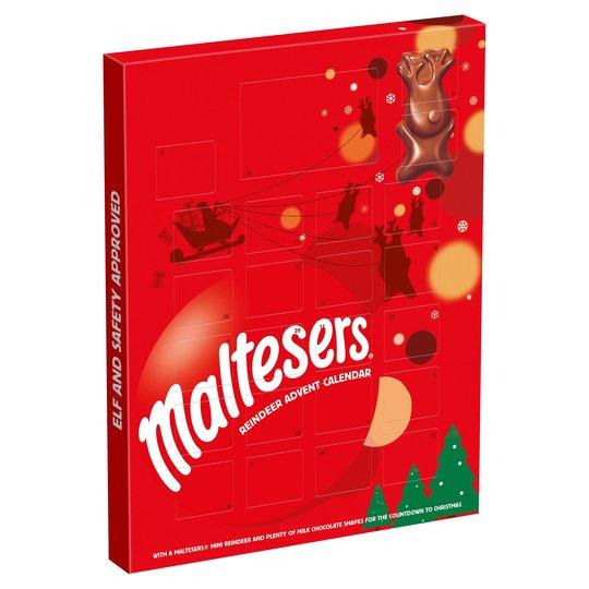 Merryteaser Advent Calendar 108G / Galaxy Advent Calendar 110G £1 @ Tesco