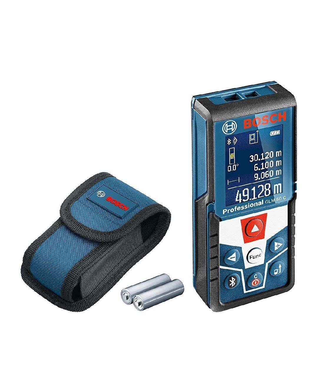 Bosch Professional 0601072C00 Bosch 50 C Professional Laser Measure with GLM Floorplan App £72.99 at Amazon
