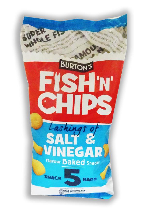 Burtons Fish n Chips 6 pk - 75p at Lidl Bolton