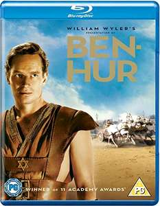Ben-Hur Ultimate 3 Disc Collector's Edition (Blu-ray) £2.49 delivered @ Amazon Prime / £5.48 Non Prime