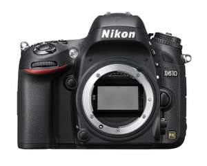 Nikon D610 Digital SLR Camera (24.3MP) 3.2 inch LCD £749 at Amazon