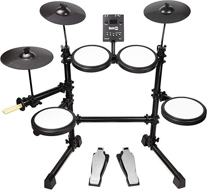RockJam Mesh Head Kit, Eight Piece Electronic Drum Kit with Mesh Head £139.99 at Amazon
