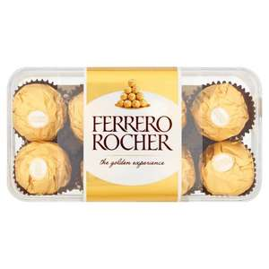 Ferrero Rocher 200gr 3 for £10 @ Morrisons mix n match includes Godiva/Aero/Dairy Box/Kinder/Kit kat senses