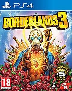 Borderlands 3 with 5 Gold Keys DLC (Exclusive to Amazon.co.uk) (PS4) and (xbox one)