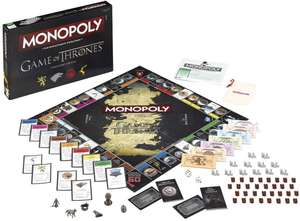 """Game of Thrones """"Game of Thrones"""" Monopoly Board Game £13.94 @ Amazon Prime /£18.43 Non-prime"""