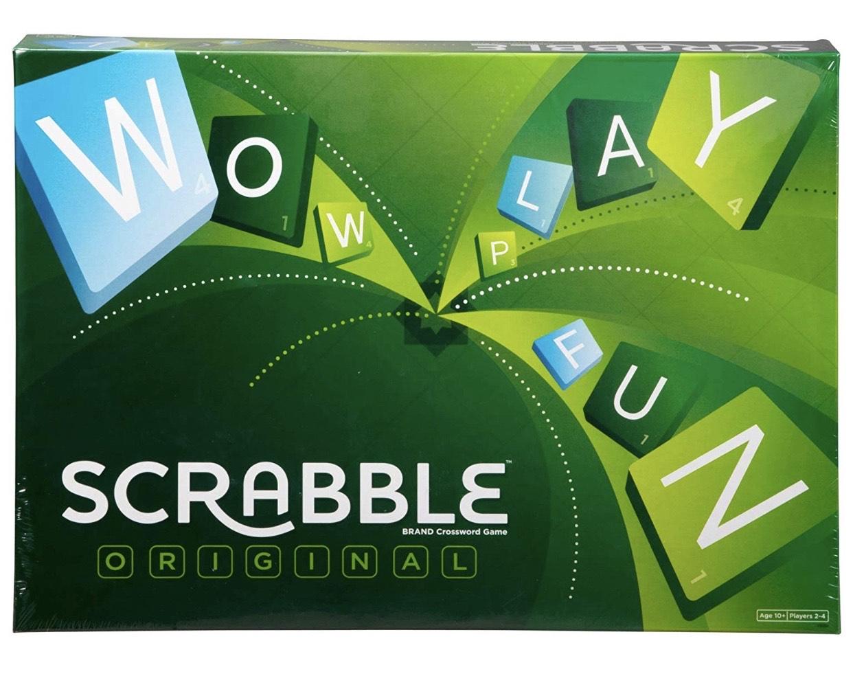 Scrabble Original - £11.45 (Prime) £15.94 (Non Prime) @ Amazon