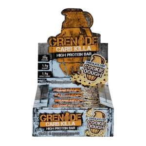 Grenade Carb Killa bars, pack of 12 for £15 (Free Click & Collect) @ Holland and Barrett