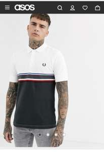 Fred Perry polo shirt £22.50 +£4 delivery @ Asos