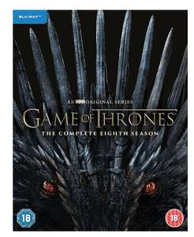 Game of Thrones Season 8 BluRay £29.99 theentertainmentstore Ebay