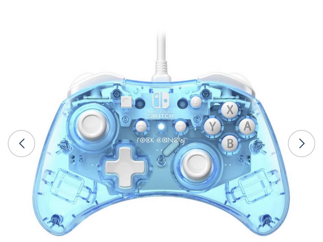 PDP Nintendo Switch Rock Candy Controller - Blue £11.99 @ Argos