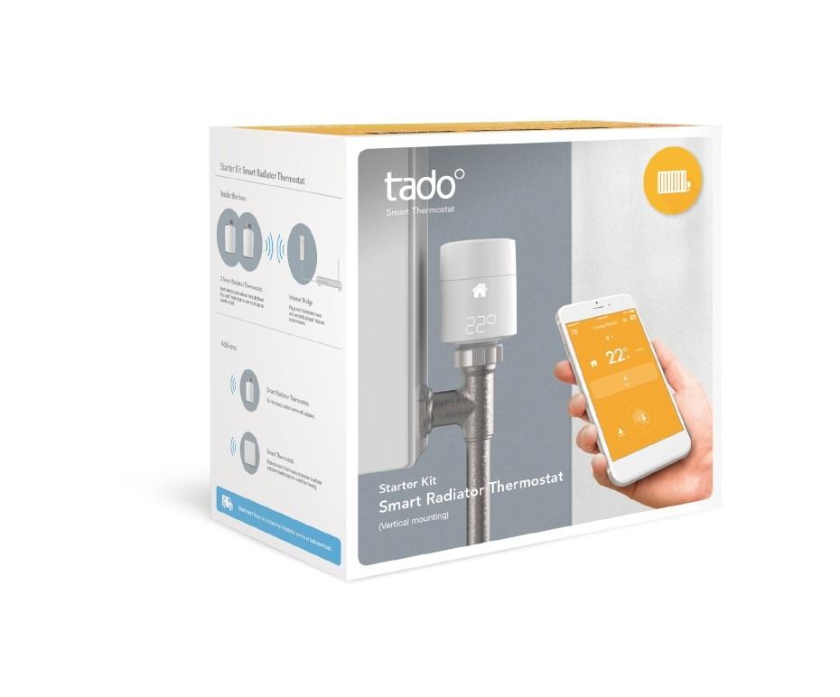 Tado Smart Radiator Thermostat Kit (2 x TRV + v3 Bridge) Vertical - £79.99 at The Electrical Showroom