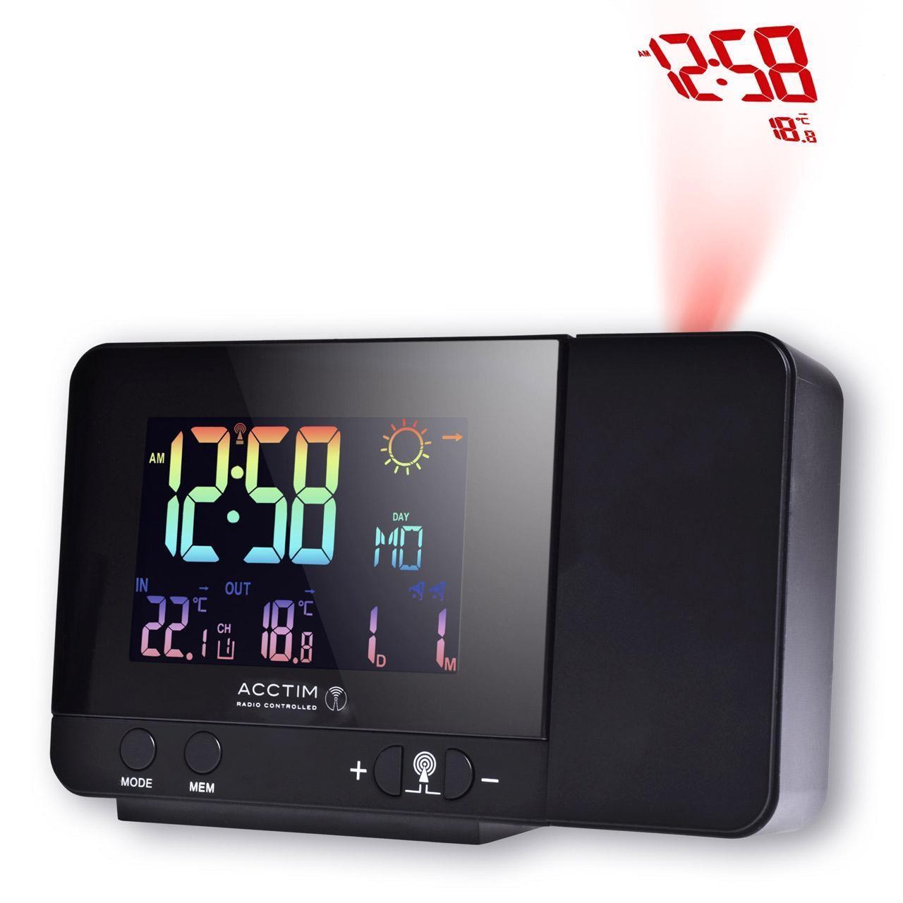 Acctim Weather Station Alarm Clock, Half Price only Ocado - £32.50