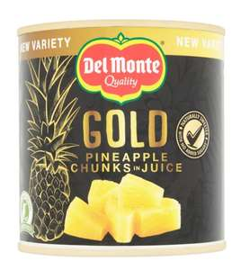 Del Monte Gold Pineapple Chunks In Juice 435G 2 for £1.50 @ Tesco