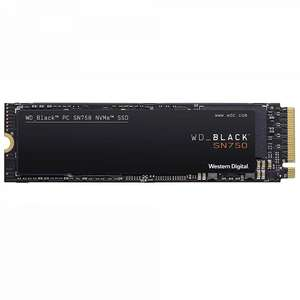 Western Digital Black 1TB SN750 High-Performance M.2 NVME PCI-E SSD £133.69 delivered @ Overclockers UK