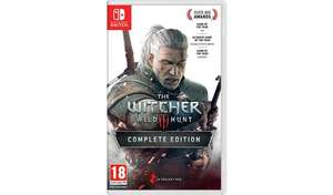 The Witcher 3: Wild Hunt Nintendo Switch Game £37.99 at Argos