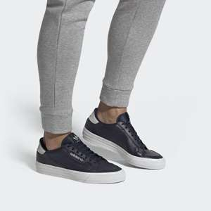 adidas continental Vulc Shoes 6-12 (various colourways Full Leather / Canvas / suede) @ Adidas £33 Delivered
