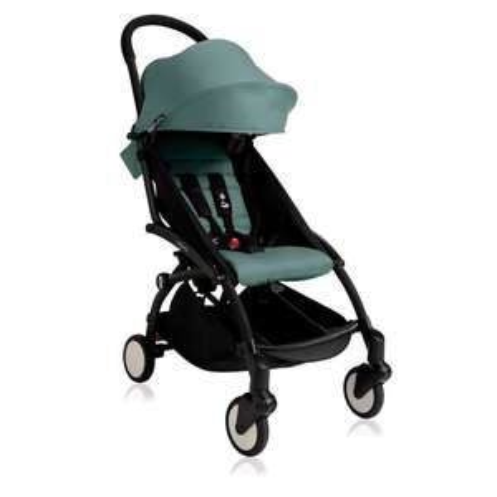 BABYZEN YOYO+ 6+ Stroller - Black with Aqua £330.65 @ Natural Baby Shower