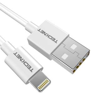 Teknet Lightning Cable (MFI Certified) 1.5m £2.99 Delivered for all / Dispatched from and sold by BLUETREE via Amazon